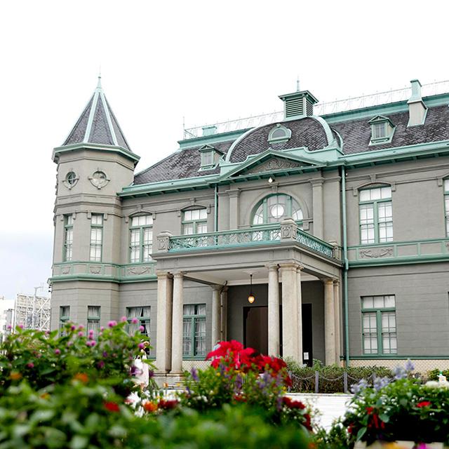 旧福岡県公会堂貴賓館の写真